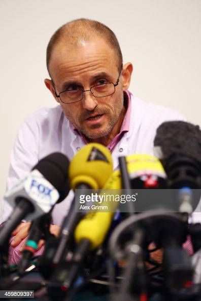 ... Professor JeanFrancois Payen attends a press conference at Grenoble ... - professor-jeanfrancois-payen-attends-a-press-conference-at-grenoble-picture-id459809397?s=594x594