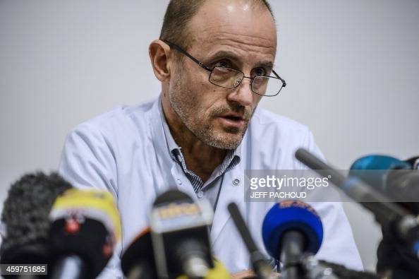 ... Professor JeanFrancois Payen gives a press conference about Michael ... - professor-jeanfrancois-payen-gives-a-press-conference-about-michael-picture-id459751685?s=594x594