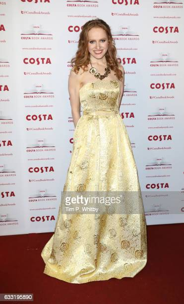 Professor Kate Williams attends the Costa Book Of The Year Award 2016 at Quaglino's on January 31 2017 in London United Kingdom