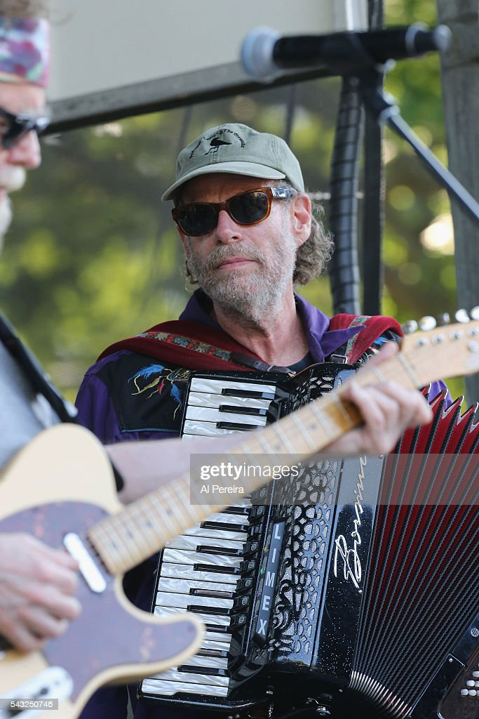 Professor Louie of Professor Louie and the Cromatix performs at Day Two of the Rockland-Bergen Music Festival at German Masonic Park on June 25, 2016 in Tappan, New York.