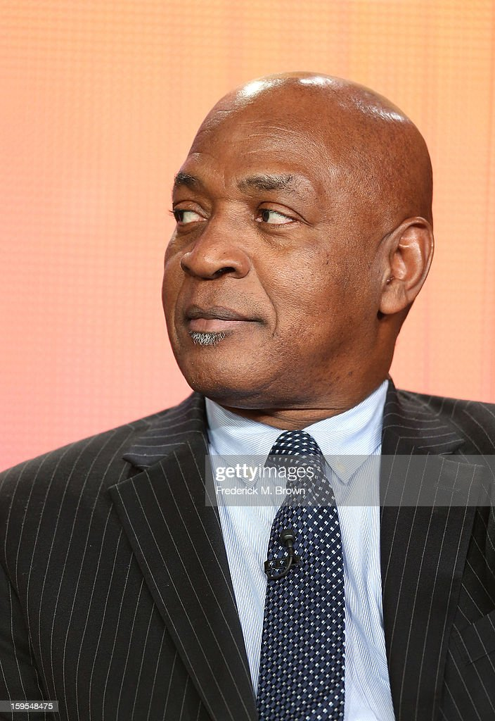 Professor of Law, Harvard University, Charles Ogletree of 'The House I Live In' speaks onstage during the PBS Portion- Day 2 of the 2013 Winter Television Critics Association Press Tour at Langham Hotel on January 15, 2013 in Pasadena, California.