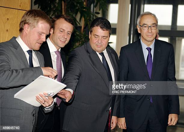 Professor of Political Economy and head of the Jacques Delors Institute in Berlin Henrik Enderlein French Economy Minister Emmanuel Macron German...