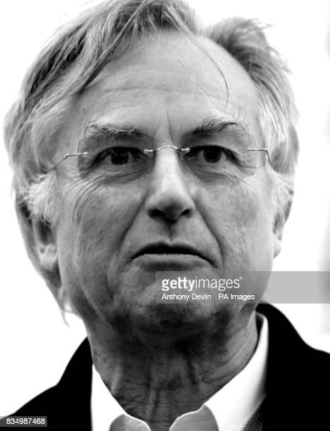 Professor Richard Dawkins speaks at an atheist campaign launch in Kensington Gardens London The UK's first ever atheist campaign is launched today as...
