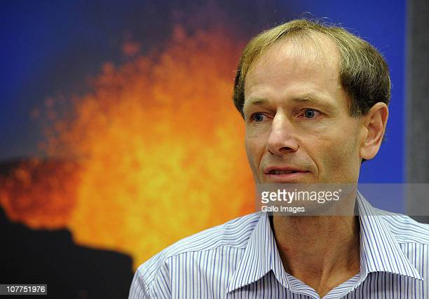 Professor Sean Davison who is facing trial in New Zealand after the assisted suicide of his mother attends a press conference on December 22 2010 in...