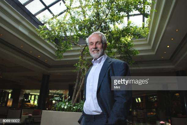 Professor Sir Brian Hoskins Director of the Grantham Institute at Imperial College London photographed during an interview with Mint