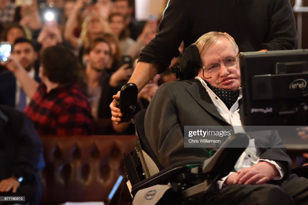 Stephen Hawking Addresses The Cambridge Union