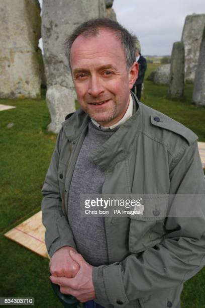 Professor Tim Darvill of the University of Bournemouth begins an excavation inside the stone circle of Stonehenge in Wiltshire The dig aims to...
