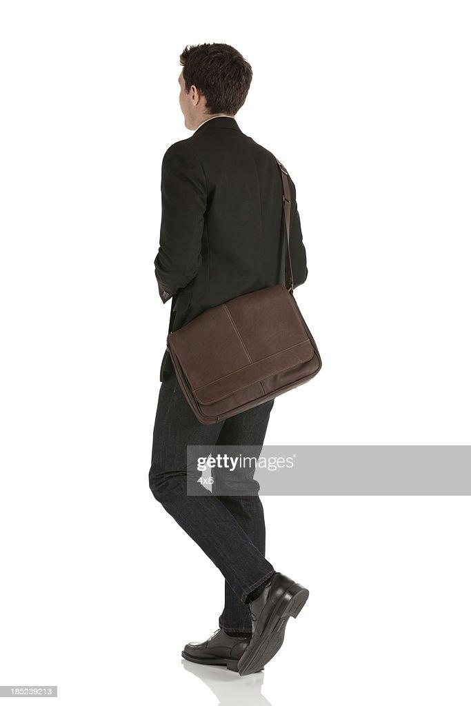 Profil von Geschäftsmann : Stock-Foto