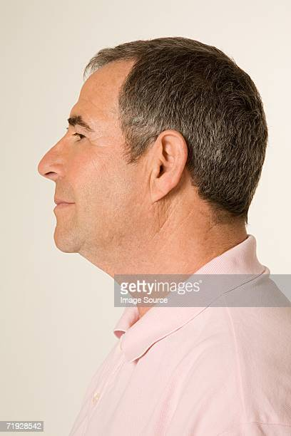 Profile of a man