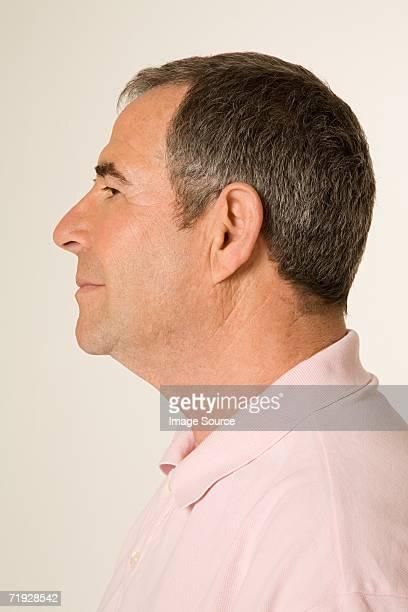 Profil d'un homme