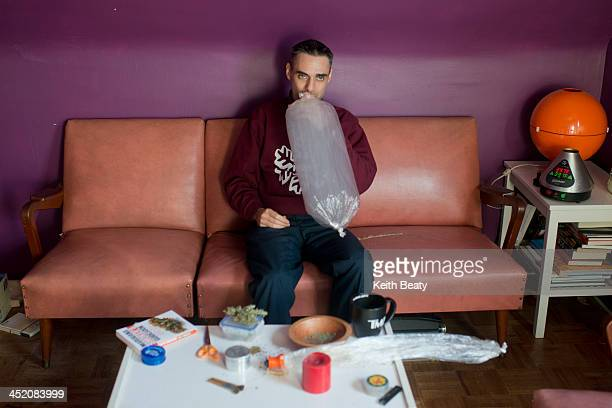 Profile of a medicinal pot user marijuana cannabis Toronto November 25 2013