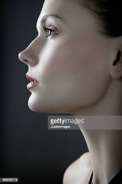 Profile of a woman's face