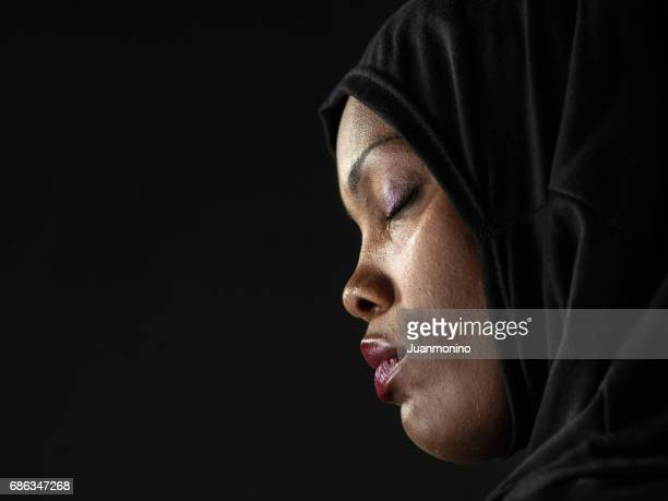 Profile of an African Muslim woman
