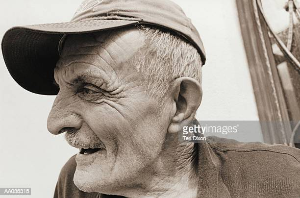 Profile of an Elderly Man