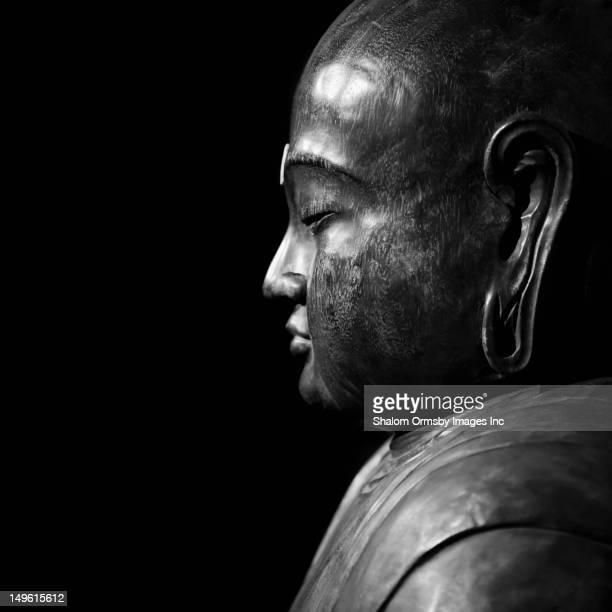 Profile of Buddha statue