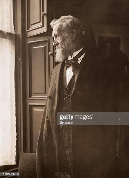 Profile portrait of John Muir American naturalistUndated photograph