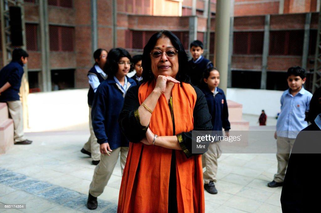 Profile shoot of education consultant Abha Adams.