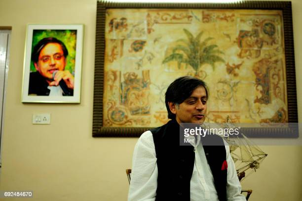 Profile shoot of Shashi Tharoor Member of Parliament Lok Sabha