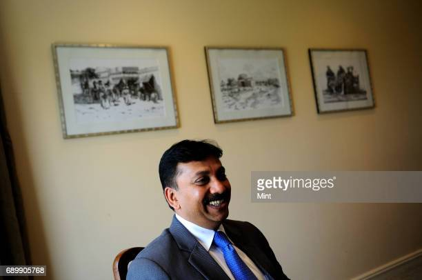 Profile shoot of Siraj A Chaudhry Chairman and CEO of Cargill India