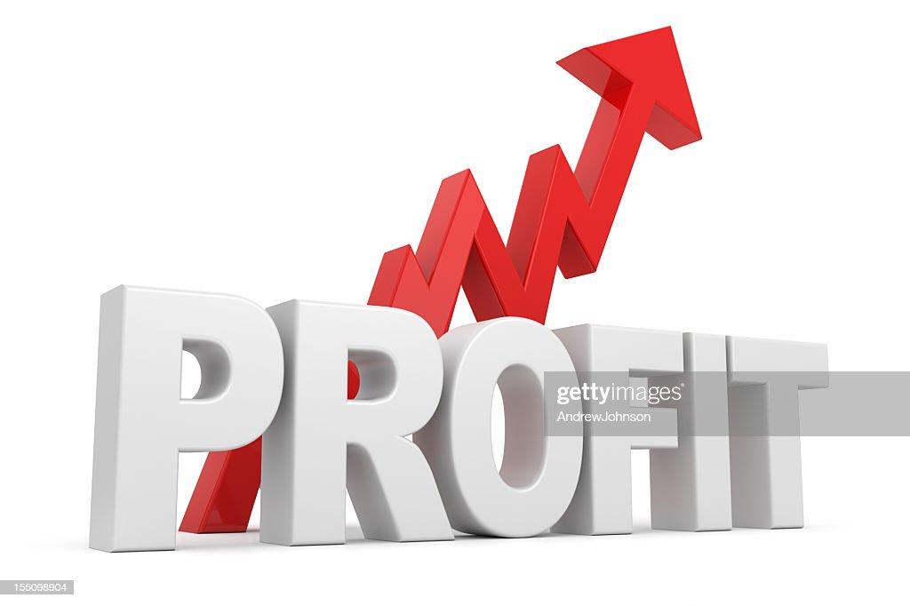 Profit Tabelle : Stock-Foto