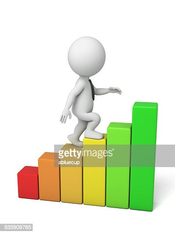 profit growth : Stock Photo