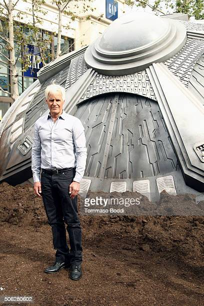 Program creator/Executive producer Chris Carter poses during the FOX's 'The XFiles' UFO sighting and premiere episode screening at The Grove on...