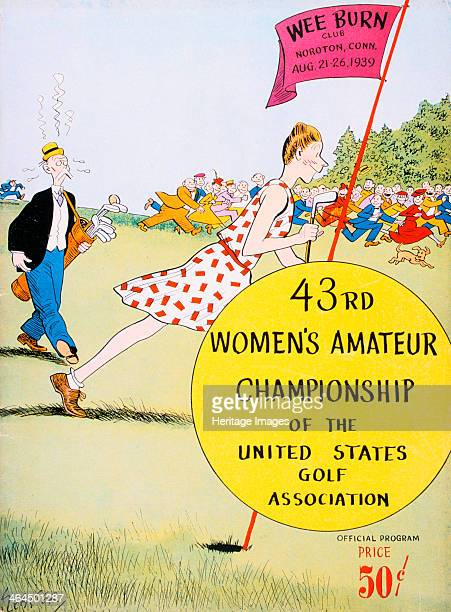 Programme for 43rd US Women's Amateur Championship 1939 Tournament held in Noroton Connecticut August 2126 1939 and won by Betty Jameson