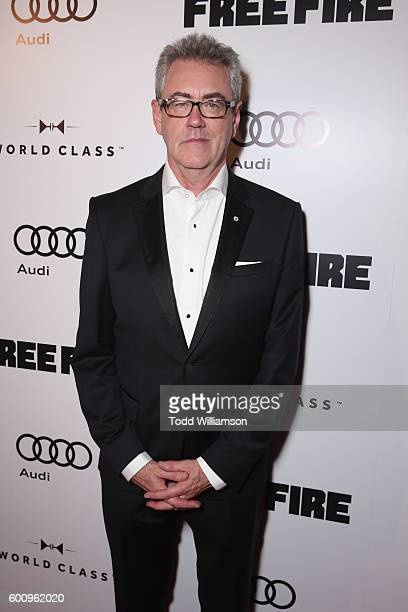 TIFF programmer Piers Handling attends the 'Free Fire' premiere screening party hosted by Bulleit at Early Mercy on September 8 2016 in Toronto Canada