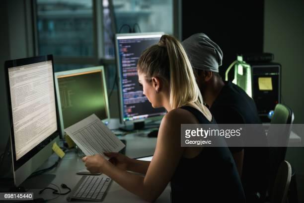 Programmierung bis spät