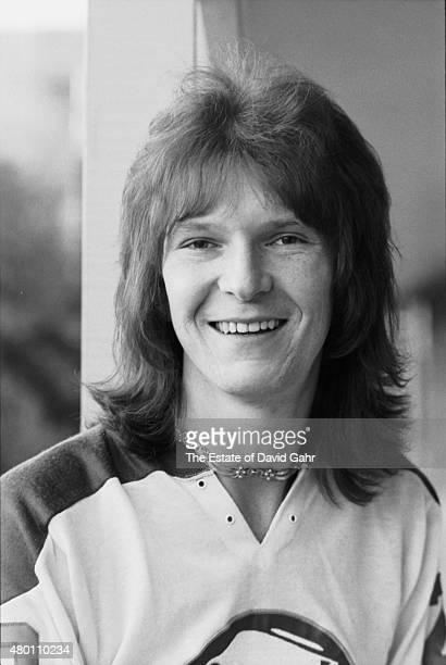 Progressive rock bassist Chris Squire of English progressive rock band Yes poses for a portrait in November 1972 in Durham North Carolina