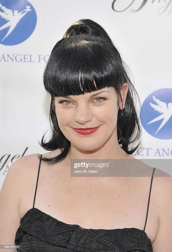 Project Angel Food Honoree actress Pauley Perrette attends the 17th Annual Angel Awards at Project Angel Food on August 18, 2012 in Los Angeles, California.