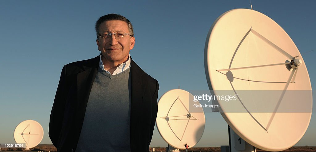 SKA Project Director Dr Bernie Faranoff visits the SKA (Square Kilometre Array) project site on October 9, 2012 in Carnavon, South Africa. President Zuma called the project an opportunity to recruit young people to pursue careers in science and technology. The SKA - or Square Kilometre Array, already includes seven telescope dishes and will feature many more from 2013 onwards.
