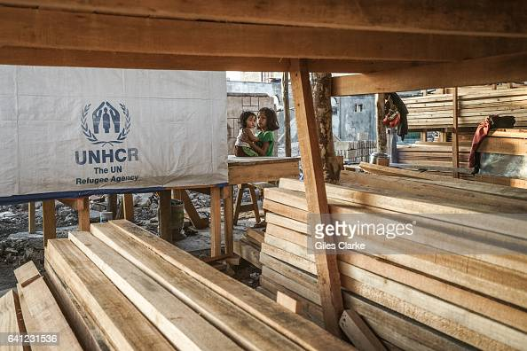 UNHCR project to rebuild buildings destroyed at the site of the 2013 Zamboanga City crisis or the Battle of Zamboanga an armed conflict between the...
