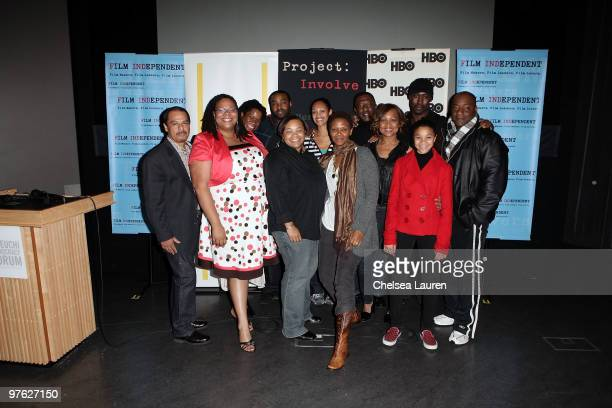 ProjectInvolve Manager Francisco Velasquez Producer Morgan Stiff actress Michael Hyatt writer / director Tina Mabry actors Eugene Long Cynthia...