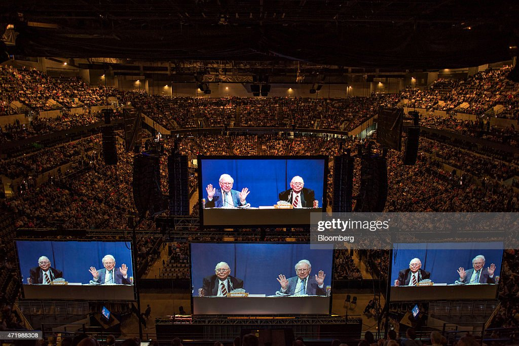 Projections of Warren Buffett Berkshire Hathaway Inc chairman and chief executive officer and Charles Munger vice chairman of Berkshire Hathaway Inc...