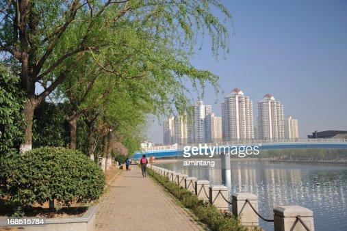Promenade along Qinhuai River