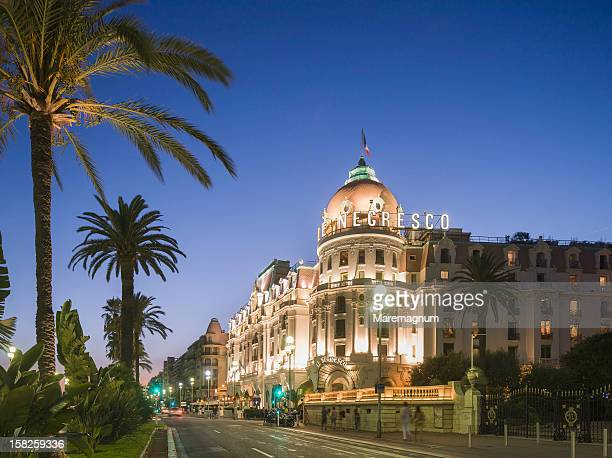 Promenade des Anglais, the Hotel Negresco