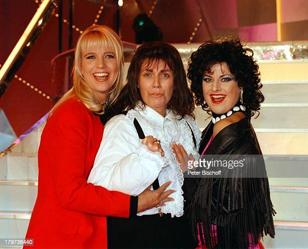 ProminentenPlaybackShow mit Christiane Krüger als 'Meat Loaf' und Tanja Schumann als 'Ellen Foley' und Linda de Mol Verkleidung Showmasterin...