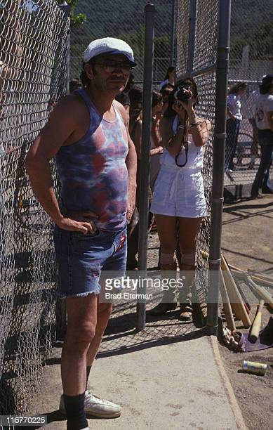 Promoter Bill Graham at the Day On The Green concert featuring Eagles at Oakland Coliseum on May 28 1977 in Oakland California **EXCLUSIVE**