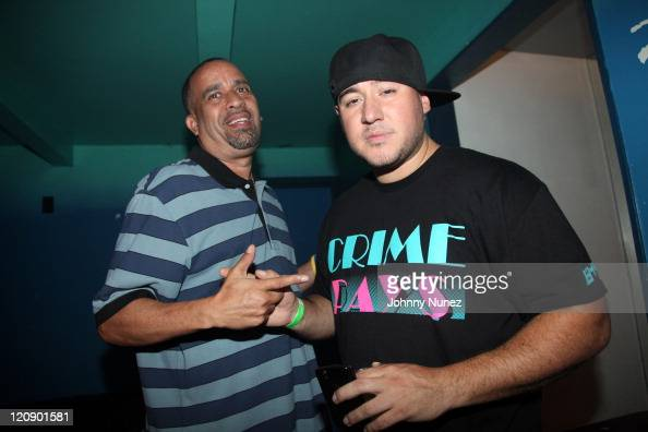 Promoter Joe Jackson and DJ Bobby Trends attend Webster Hall on August 11 2011 in New York City