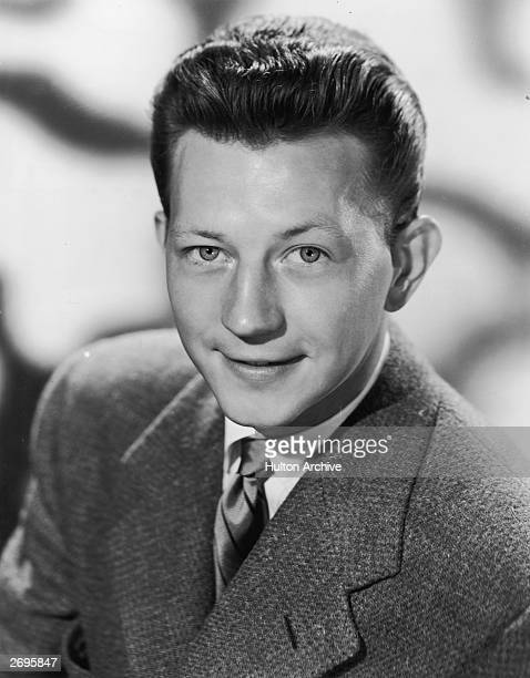 Promotional headshot portrait of American entertainer Donald O'Connor for the television variety series 'Colgate Comedy Hour'September 1952