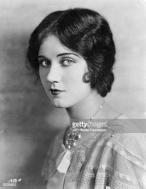 Promotional headshot portrait of Canadianborn actor Fay Wray as a brunette 1920s