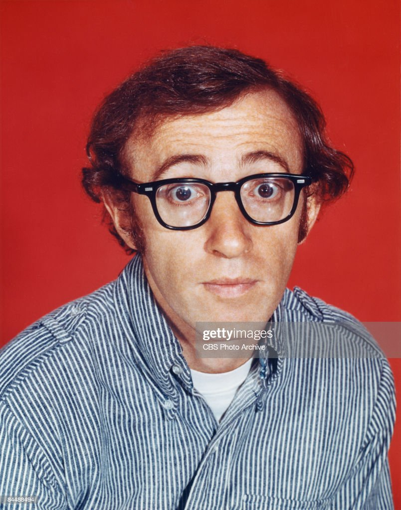 Promotional portrait of American comedian, actor, and director <a gi-track='captionPersonalityLinkClicked' href=/galleries/search?phrase=Woody+Allen&family=editorial&specificpeople=202886 ng-click='$event.stopPropagation()'>Woody Allen</a>, September 2, 1969.