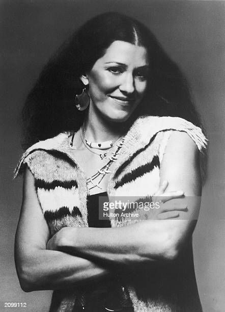 Promotional portrait of American country singer Rita Coolidge circa 1977