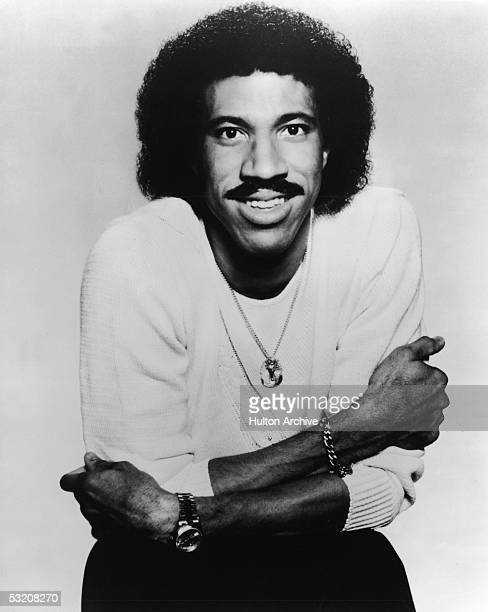 Promotional portrait of American rb and pop singer Lionel Richie early 1980s