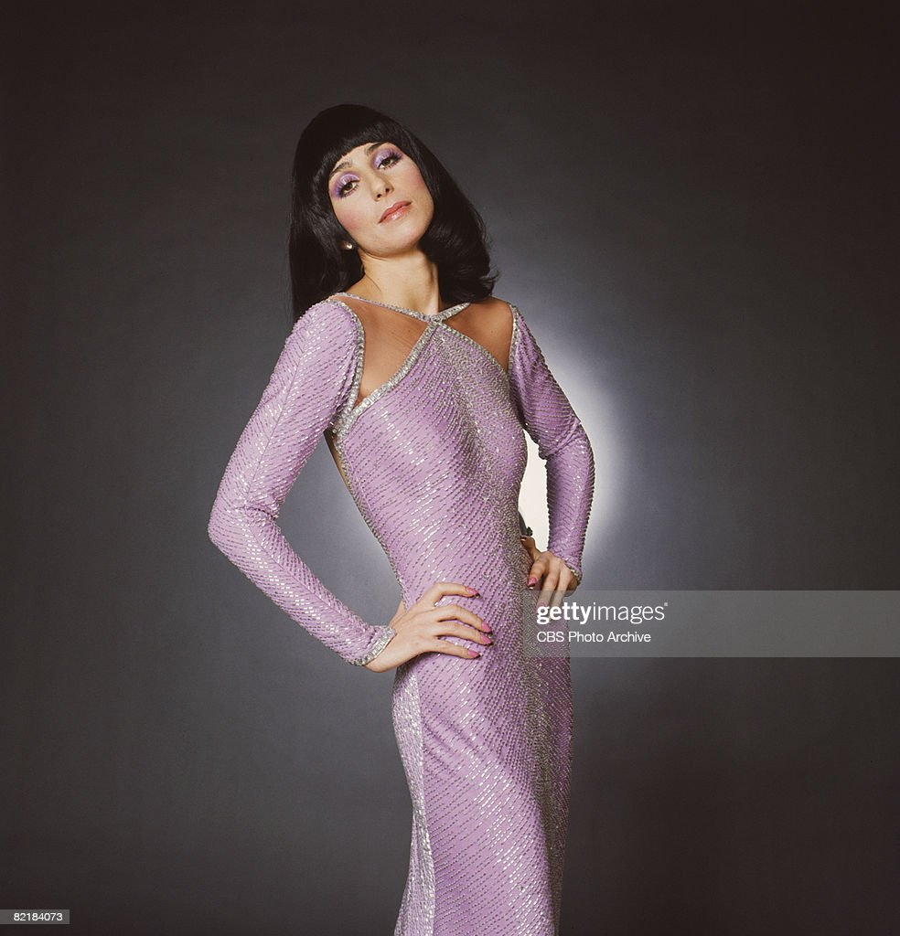 Promotional portrait of American singer and actress <a gi-track='captionPersonalityLinkClicked' href=/galleries/search?phrase=Cher+-+Performer&family=editorial&specificpeople=203036 ng-click='$event.stopPropagation()'>Cher</a> (born <a gi-track='captionPersonalityLinkClicked' href=/galleries/search?phrase=Cher+-+Performer&family=editorial&specificpeople=203036 ng-click='$event.stopPropagation()'>Cher</a>ilyn Sarkisian LaPiere) for the television variety show 'The Sonny and <a gi-track='captionPersonalityLinkClicked' href=/galleries/search?phrase=Cher+-+Performer&family=editorial&specificpeople=203036 ng-click='$event.stopPropagation()'>Cher</a> Comedy Hour,' 1972.