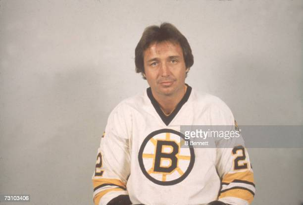 Promotional portrait of Canadian hockey player Brad Park of the Boston Bruins Septmeber 1981