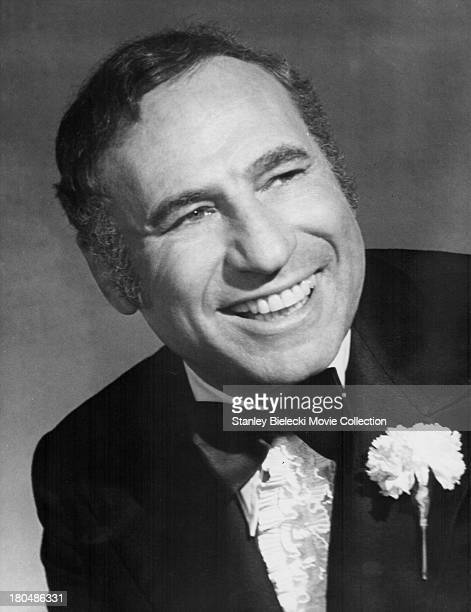 Promotional shot of actor and director Mel Brooks as he appears in the movie 'Silent Movie' 1976