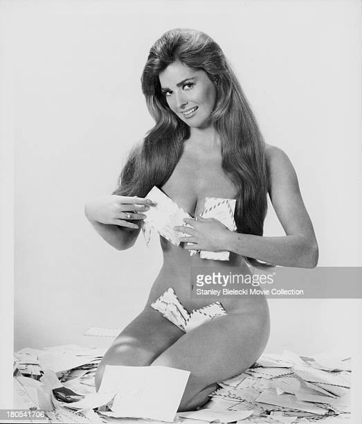 Promotional shot of actress Edy Williams as she appears in the movie 'The Seven Minutes' 1971