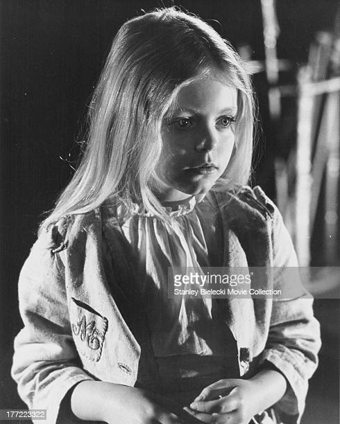 Promotional shot of child actress Patsy Kensit as she appears in the movie 'The Blue Bird' 1976